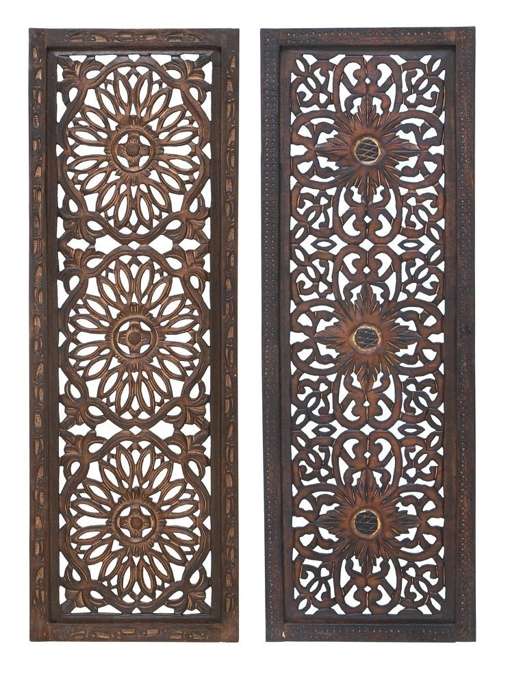 Wood Metal Wall Panel (Set Of 2) | Family Room Walls | Pinterest Within Wood And Metal Wall Art (Image 10 of 10)