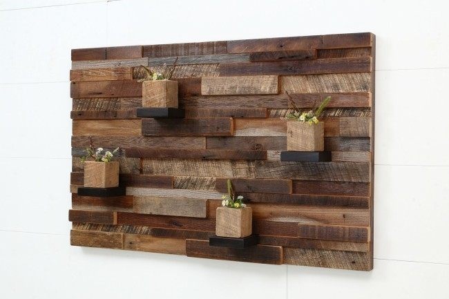 Wood Pallet Wall Decor Reclaimed Wooden Pallet Wall Art Recycled For Pallet Wall Art (Image 10 of 10)