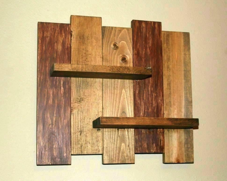Wood Planks Wall Art Ideal Wood Plank Wall Art Wood Plank Wall Art With Plank Wall Art (View 7 of 10)