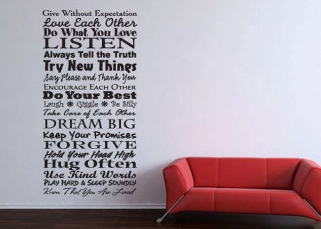Word Art For Walls – Ideas About Word Art For Walls : Handy Home Design With Regard To Word Art For Walls (Image 9 of 10)