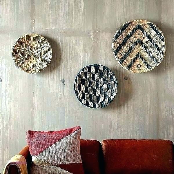 Woven Basket Wall Art Target Woven Basket Woven Wall Art Target Inside Woven Basket Wall Art (Image 9 of 10)