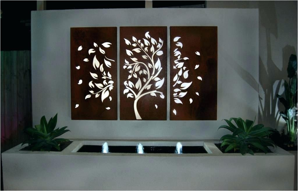 Wrought Iron Outdoor Wall Decor Outdoor Iron Wall Decor Contemporary Regarding Outdoor Metal Wall Art (Image 10 of 10)