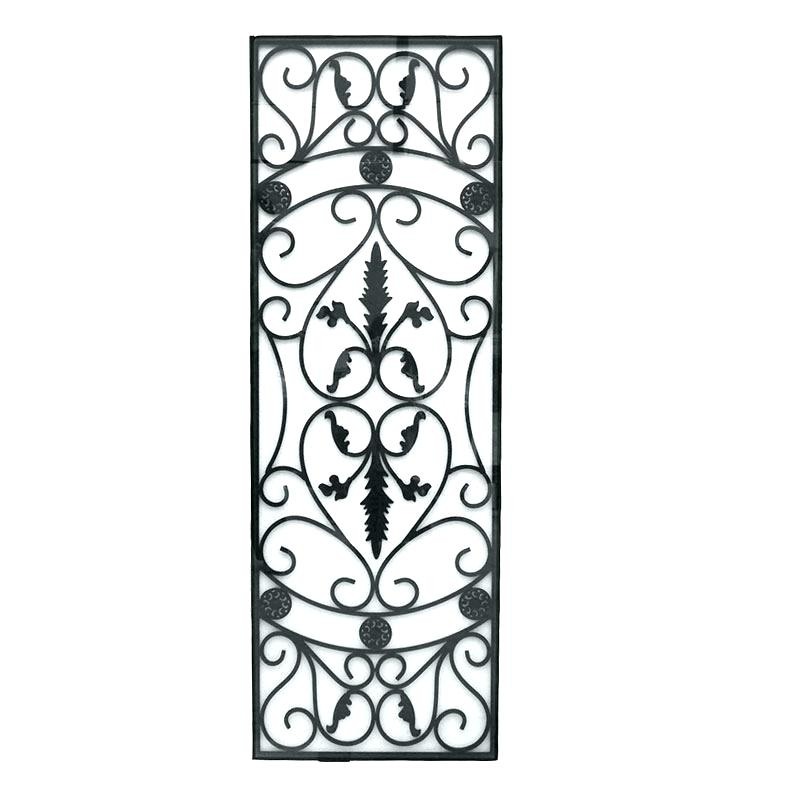 Wrought Iron Wall Art Vertical Metal Wall Art Vertical Metal Wall Throughout Vertical Metal Wall Art (Image 10 of 10)