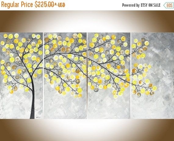 Yellow Wall Art Simple Yellow Wall Art – Wall Decoration Ideas Intended For Yellow Wall Art (View 4 of 10)