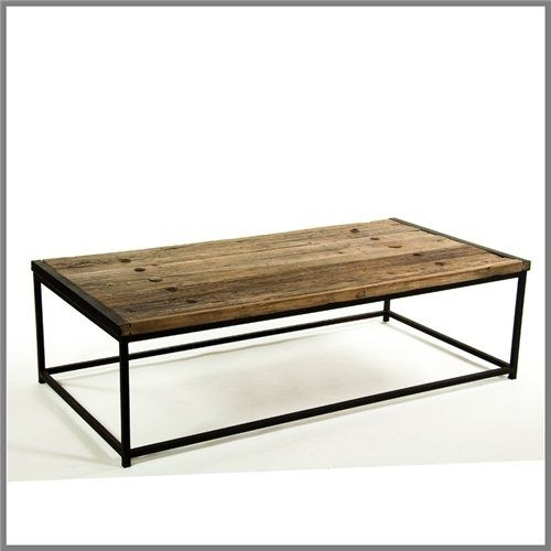 10 Best Slate Images On Pinterest | Iron Coffee Table, Coffee Tables Within Reclaimed Elm Iron Coffee Tables (View 13 of 40)