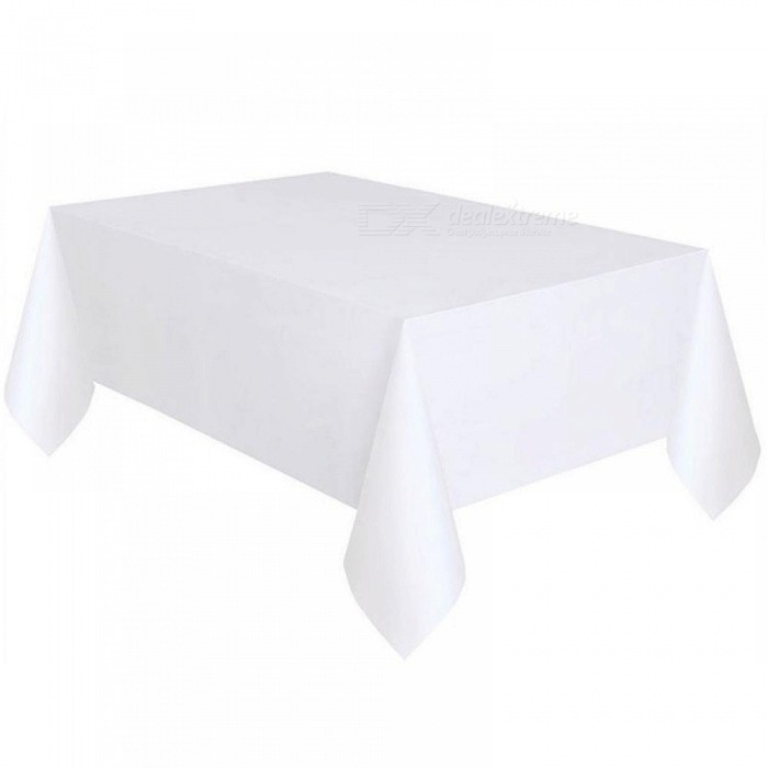 137X274Cm Solid Disposable Tablecloth Peva Anti Oil Table Cloth In Flat Black And Cobre Coffee Tables (Image 2 of 40)