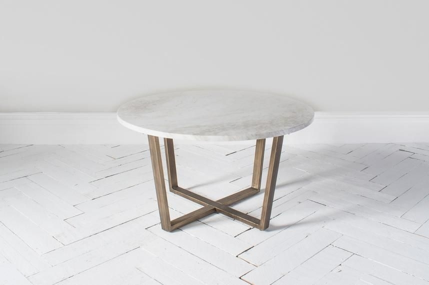 15 Elegant Marble Coffee Table Design – Lendance Regarding Smart Round Marble Brass Coffee Tables (Image 1 of 40)