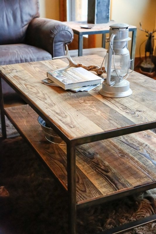 160+ Best Coffee Tables Ideas | Best Ideas Furniture | Pinterest With Recycled Pine Stone Side Tables (View 8 of 40)
