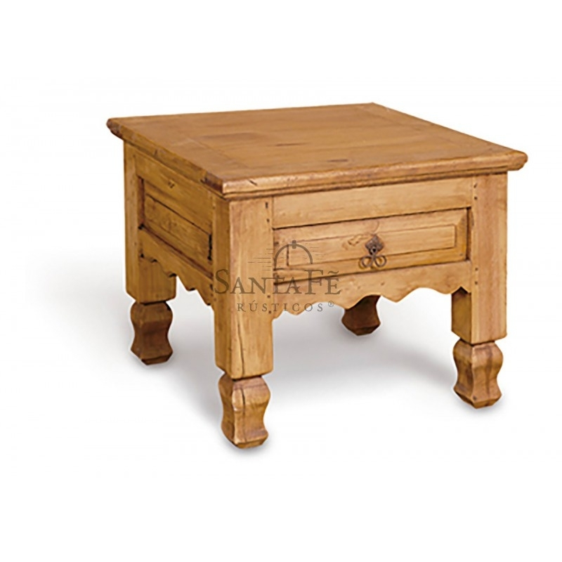 1Dr End Table – Santa Fe Rustic In Santa Fe Coffee Tables (Image 1 of 40)
