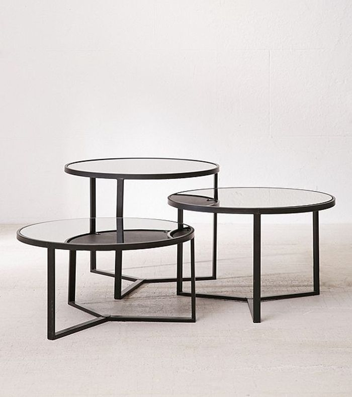 21 Small, Round Coffee Tables To Maximize Your Tiny Space | Mydomaine In Kai Small Coffee Tables (Image 3 of 40)