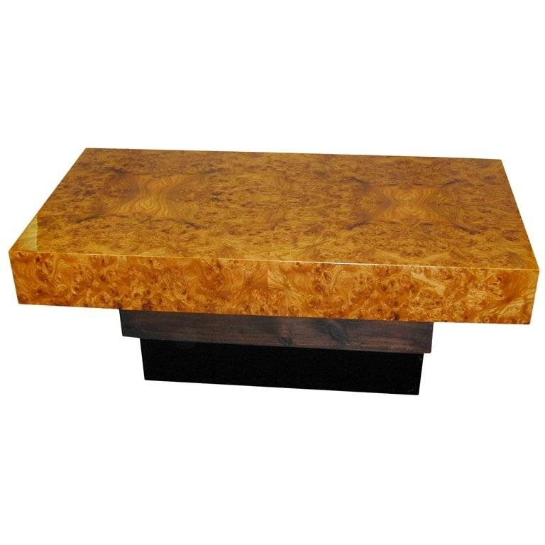 25 The Best Of Burl Wood Coffee Table Scheme – Coffee Table Ideas Inside Oslo Burl Wood Veneer Coffee Tables (Image 3 of 40)