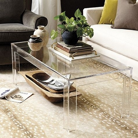 268 Best Coffee Tables Images On Pinterest Modern Acrylic Coffee Pertaining To Modern Acrylic Coffee Tables (Image 1 of 40)