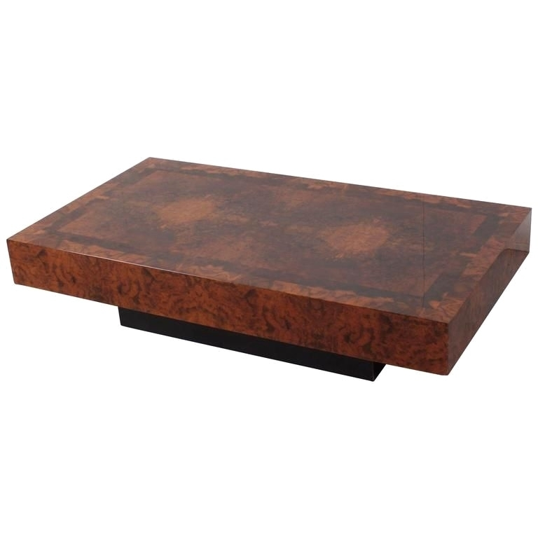 28 Fresh Pictures Of Burl Coffee Table | Coffee Gallery Within Oslo Burl Wood Veneer Coffee Tables (Photo 34 of 40)