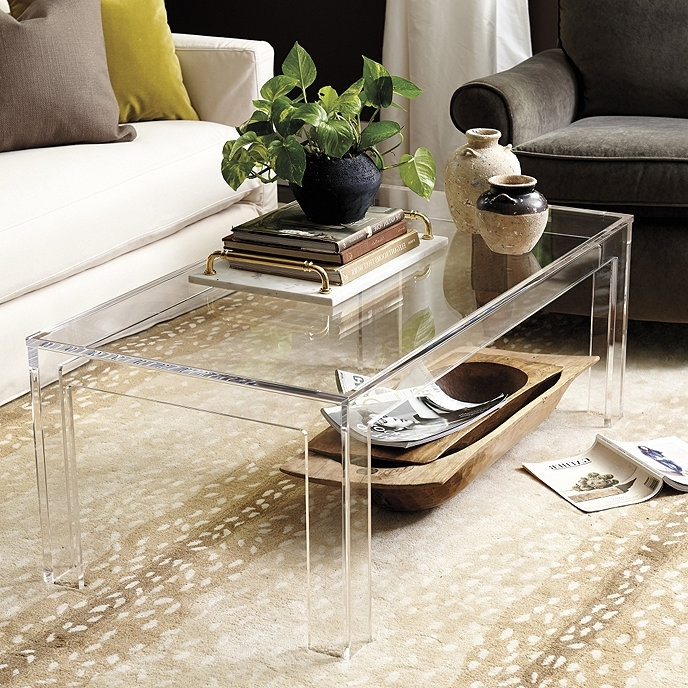 32 Stunning Acrylic Trunk Coffee Table – Get Good Shape Within Stately Acrylic Coffee Tables (View 4 of 40)