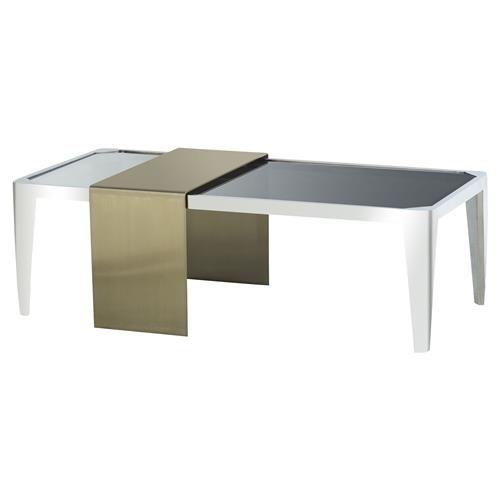 33 Beautiful Acrylic Nesting Coffee Table Concepts | Azfibrocenters Inside Acrylic & Brushed Brass Coffee Tables (Photo 29 of 40)