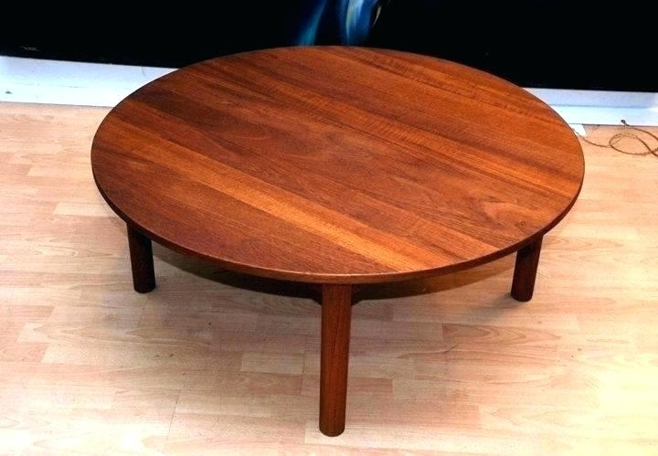 36 Inch Round Outdoor Coffee Table Inch Round Outdoor Coffee Table For Round Teak Coffee Tables (Photo 7 of 40)
