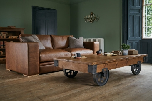 4 Seater Sofas | Large Sofas | Indigo Furniture With Mill Large Leather Coffee Tables (View 34 of 40)