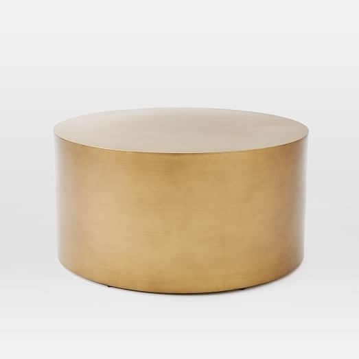 46 Attractive Photos About Brass Drum Coffee Table | Table Ideas Throughout Darbuka Brass Coffee Tables (Photo 28 of 40)