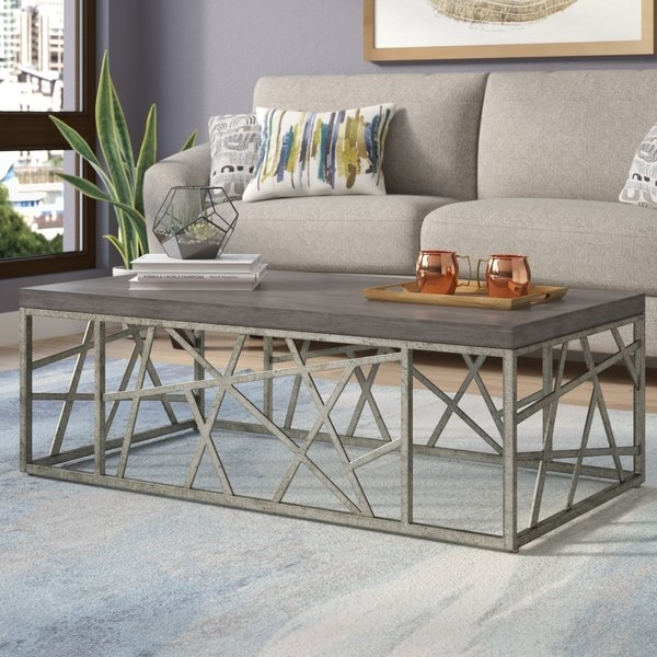 "Featured Image of Chevron 48"" Coffee Tables"