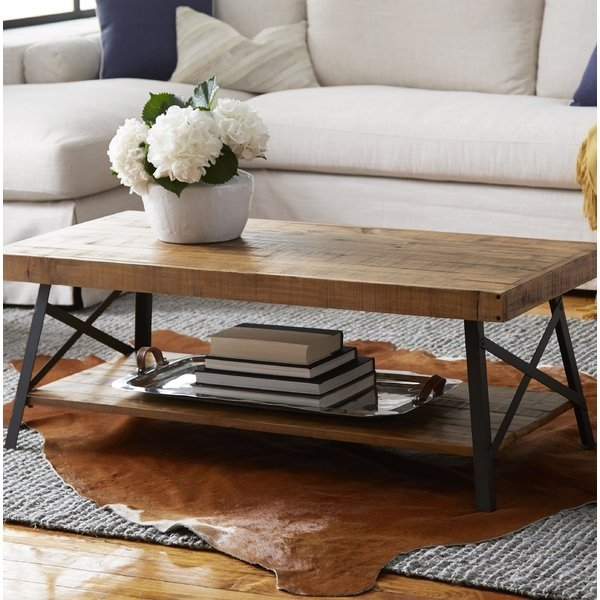 48 X 48 Coffee Table | Wayfair Pertaining To Large Scale Chinese Farmhouse Coffee Tables (Image 4 of 40)