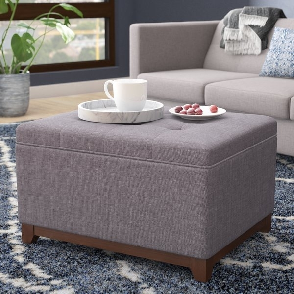 48 X 48 Ottoman | Wayfair With Regard To Mill Large Leather Coffee Tables (View 20 of 40)