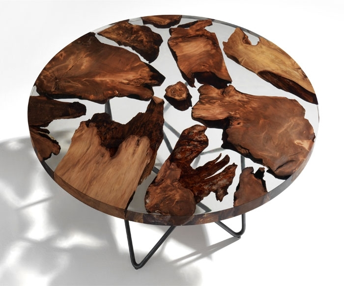 50 Coffee Table Ideas For 2018 / 2019 – Interiorzine In Suspend Ii Marble And Wood Coffee Tables (Image 2 of 40)