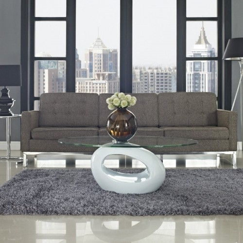 50 Modern Coffee Tables For The Luxury Living Room With Regard To Contemporary Curves Coffee Tables (Image 8 of 40)