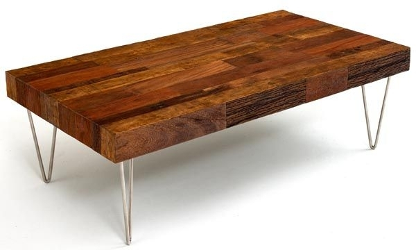 54X30 $895 Modern Meeting Rustic Coffee Table | Piney Branch Rd Pertaining To Modern Rustic Coffee Tables (Image 1 of 40)