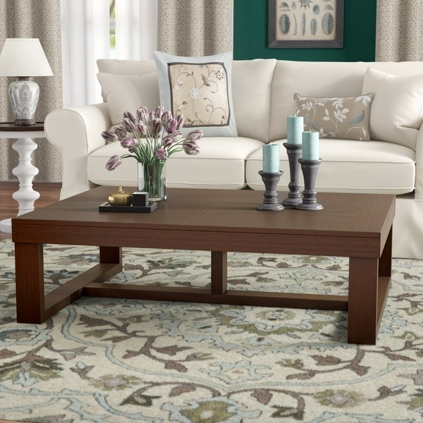 55 Inch Coffee Table | Wayfair Intended For Stately Acrylic Coffee Tables (View 25 of 40)