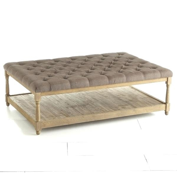 60 Coffee Table Button Tufted Coffee Table 60Cm Round Coffee Table With Regard To Round Button Tufted Coffee Tables (Image 3 of 40)