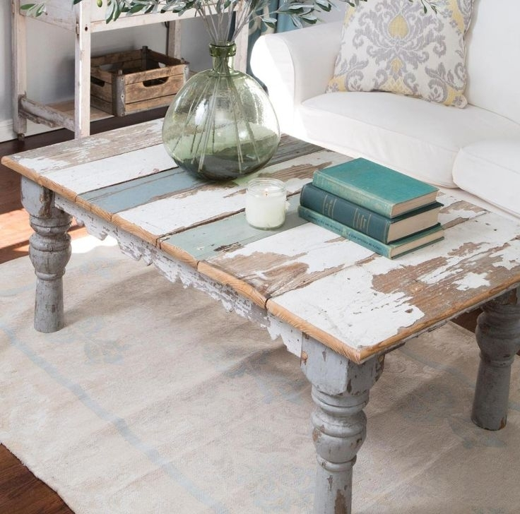8 Best Coffee Tables Images On Pinterest | Distressed Coffee Tables In Magnolia Home Showcase Cocktail Tables (Image 2 of 40)