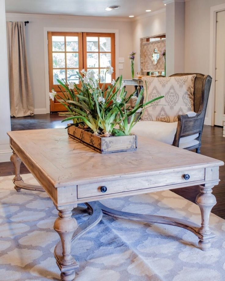 8 Best Coffee Tables Images On Pinterest | Distressed Coffee Tables With Regard To Magnolia Home Showcase Cocktail Tables (Image 3 of 40)
