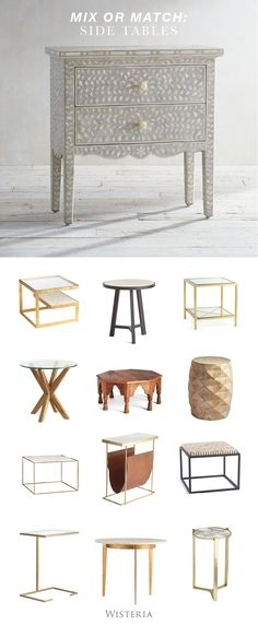 81 Best Furniture | Side Tables Images On Pinterest In 2018 | End Regarding Large Scale Chinese Farmhouse Coffee Tables (Image 5 of 40)