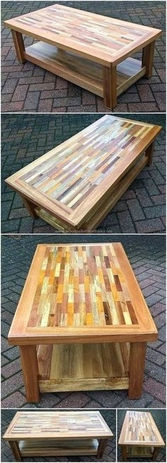 83 Best Table Images On Pinterest | Metal Furniture, Table Furniture Inside Corrugated White Wash Barbox Coffee Tables (Image 11 of 40)