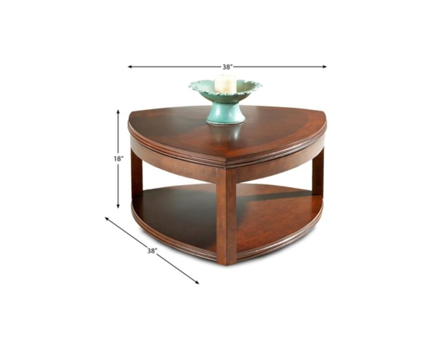 833 821 Klaussner Furniture Coffee Table Cocktail Table With Casters With Ontario Cocktail Tables With Casters (Image 2 of 40)