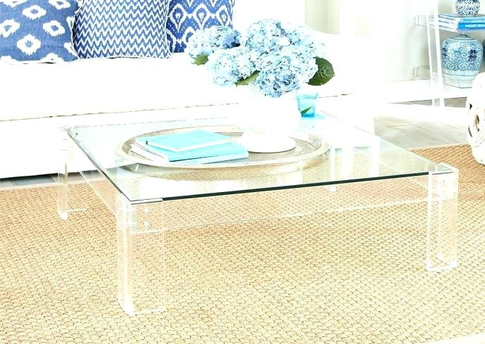 Acrylic Coffee Table Tables With – Damabianca For Disappearing Coffee Tables (Image 3 of 40)