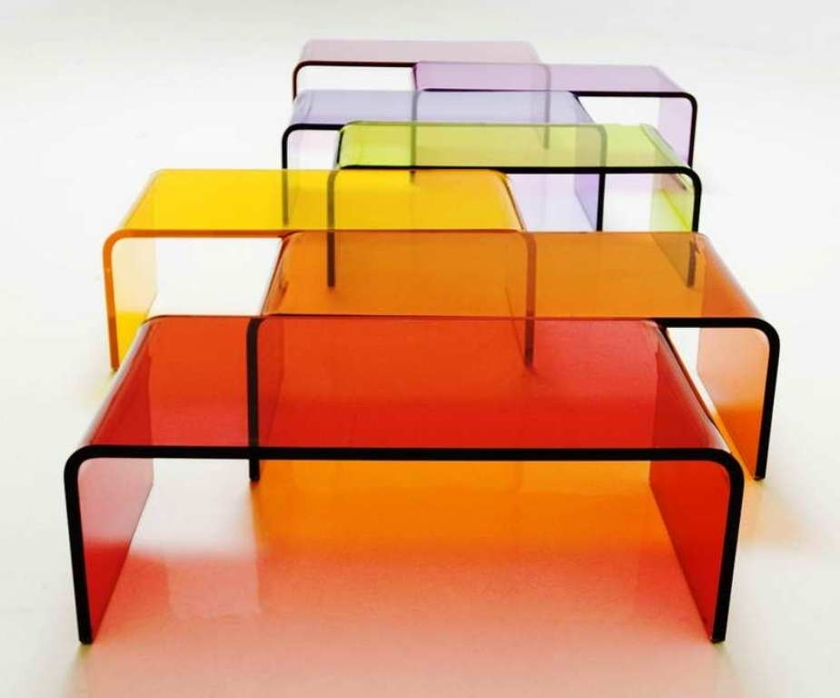 Acrylic Coffee Table With Shelf — Smart Architechtures : How To With Regard To Stately Acrylic Coffee Tables (View 20 of 40)