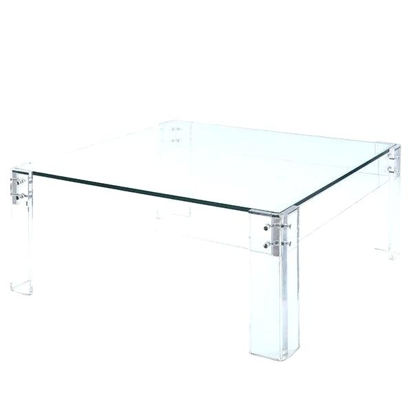 Acrylic Glass Coffee Table – Twomenandatruck (Image 7 of 40)