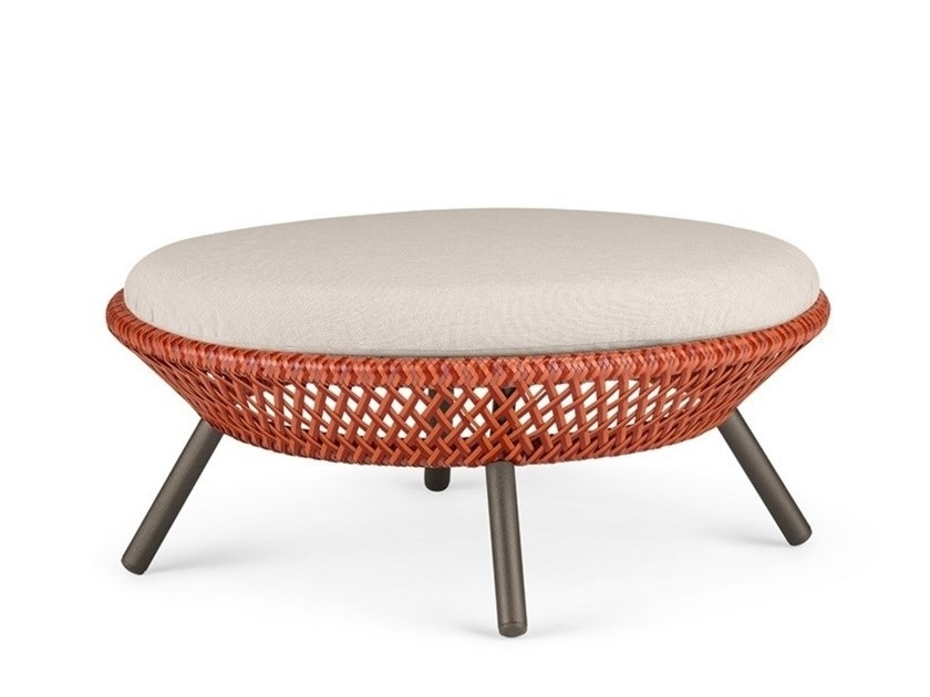 Ahnda | Footstool Ahnda Collectiondedon Design Stephen Burks Regarding Elba Ottoman Coffee Tables (Image 3 of 40)