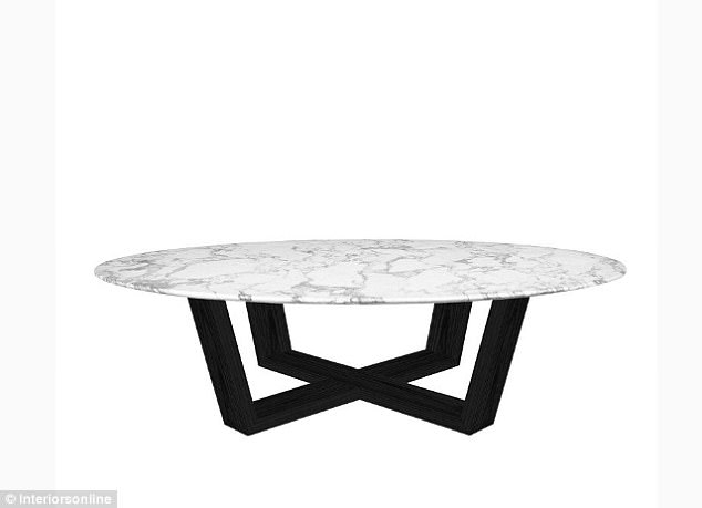 Aldi Australia To Launch Discount Designer Living Room | Daily Mail In Jackson Marble Side Tables (Image 3 of 40)