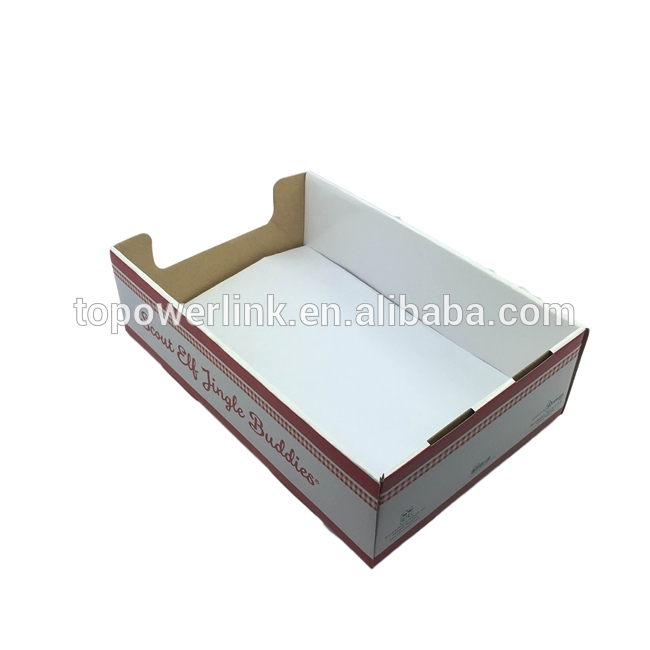 Alibaba Supplier Cardboard Paper Printed Corrugated Retail Counter For Corrugated White Wash Barbox Coffee Tables (Image 13 of 40)