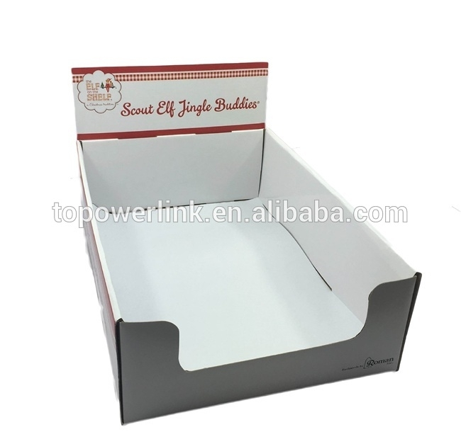 Alibaba Supplier Cardboard Paper Printed Corrugated Retail Counter For Corrugated White Wash Barbox Coffee Tables (Image 12 of 40)