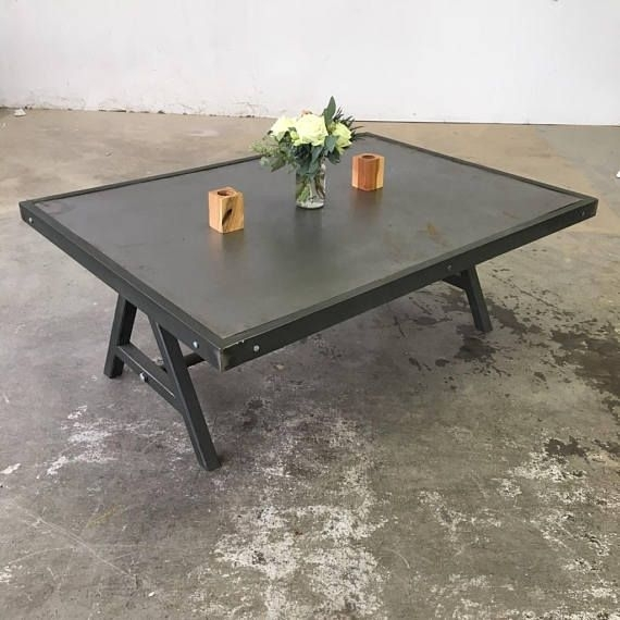 Featured Image of Waxed Metal Coffee Tables