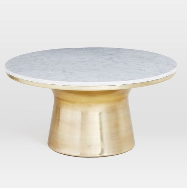 Amazing Brass Coffee Table Design ~ Almosthomebb With Regard To Rectangular Coffee Tables With Brass Legs (View 15 of 40)