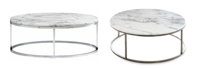 Amazing Round Marble Top Coffee Table Design Within Reachfor Much With Regard To Smart Round Marble Brass Coffee Tables (Image 4 of 40)