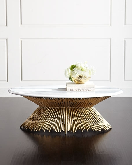 Ambella Sunset Marble Coffee Table With Regard To Marble Coffee Tables (Image 3 of 40)