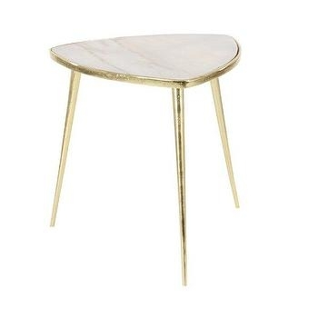 Angled Legs Gold Table – Products, Bookmarks, Design, Inspiration In Moraga Barrel Coffee Tables (Image 2 of 40)
