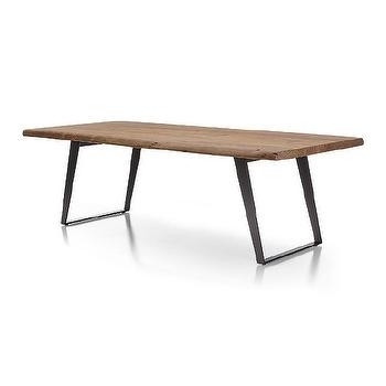 Angled Steel Legs Table – Products, Bookmarks, Design, Inspiration Inside Moraga Barrel Coffee Tables (View 25 of 40)