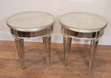 Antique Art Deco Mirror Side Tables | Furniture | Pinterest | Art Regarding Antiqued Art Deco Coffee Tables (Image 6 of 40)