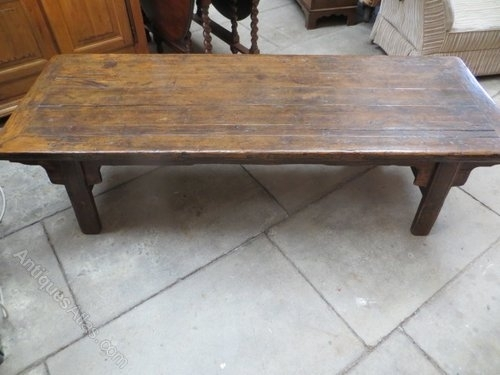 Featured Image of Antique Pine Coffee Tables